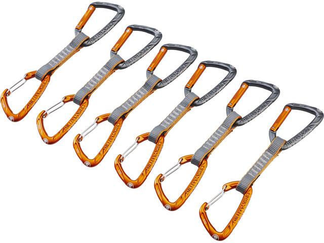 Skylotec Flint Express Mix Quickdraw Set 11cm 6 Pieces, light grey/orange